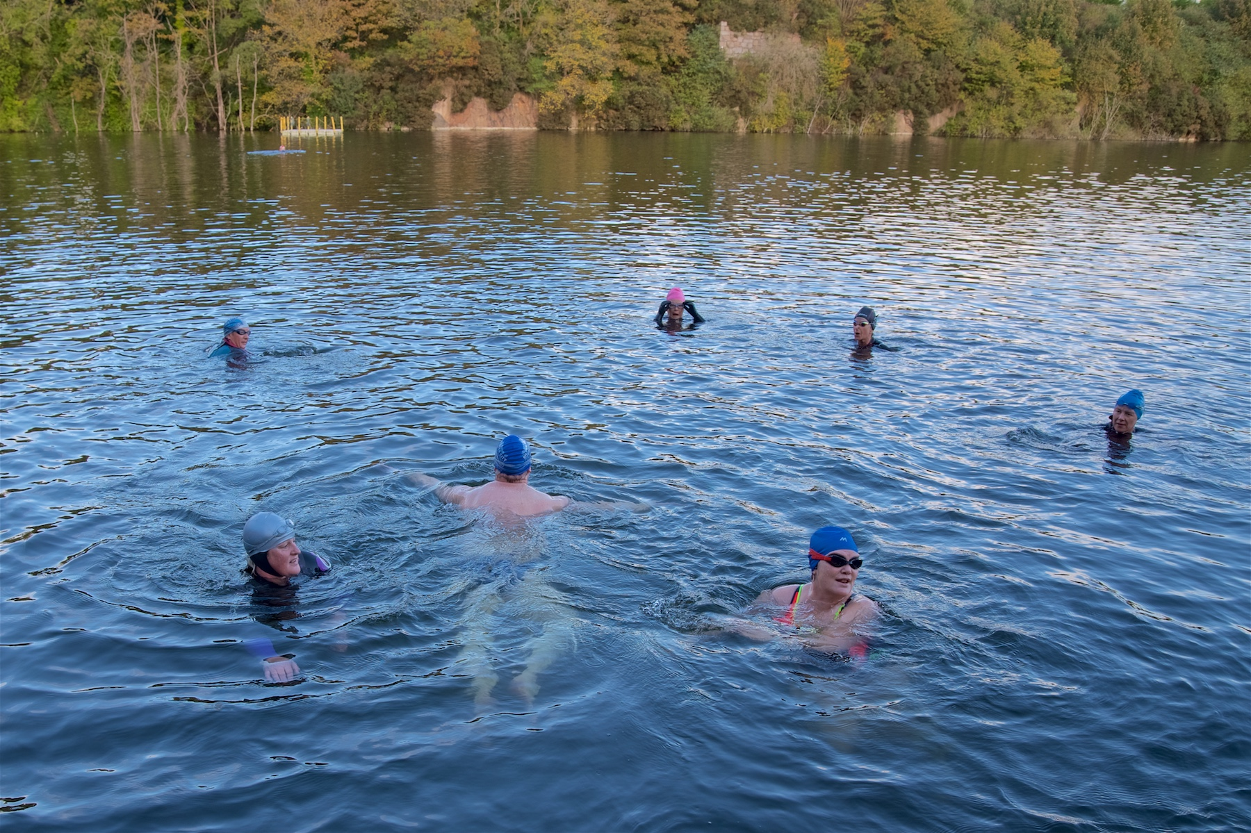Rubislaw Quarry Swim 08.10.17